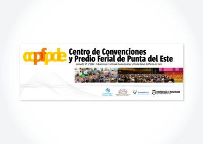 Centro de Convenciones / Cartel de llamado