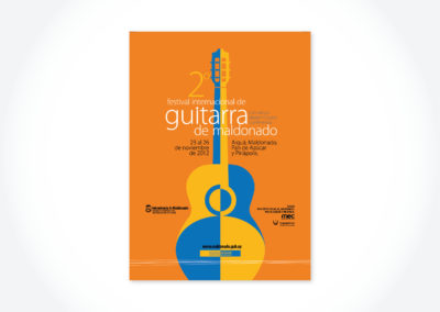 Festival de Guitarras / Cartel para refujios