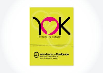 Corridas 10K / Cartel para refujios