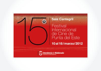 Festival de Cine / Alrrededores Sala Cantegril