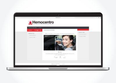 Hemocentro Agenda Online