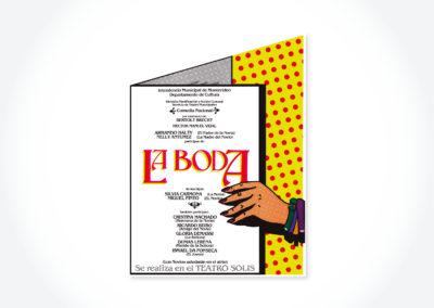 La Boda / Teatro