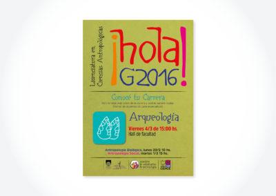 Hola G2016 Arqueología