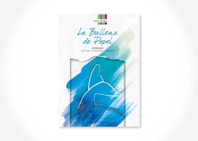 La ballena de papel / Tapa libro
