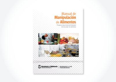 Manipulación de alimentos / Tapa manual