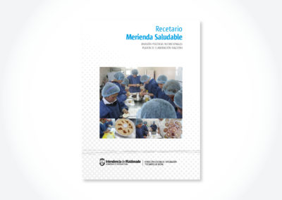 Recetario Merienda Saludable /T apa manual