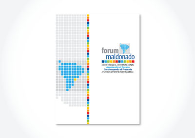 Forum Maldonado / Tapa libro