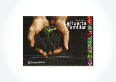 La huerta familiar / Tapa libro