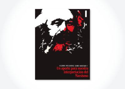 Un aporte para nuestra interpretación del marxismo / Tapa cuadernillo