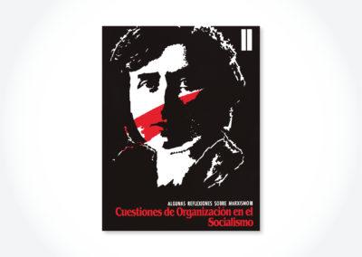 Cuestiones de organización en el socialismo / Tapa cuadernillo