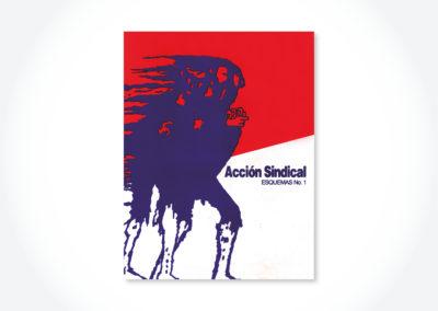 Acción sindical, Esquemas 1 / Tapa cuadernillo