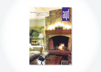Revista Arte& Diseño / Tapa suplemento
