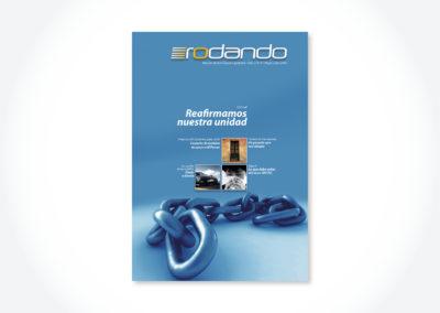 Revista Rodando / Tapa