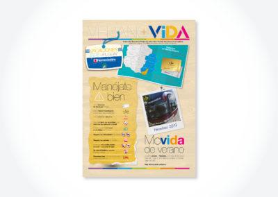 Verano+Vida / Tapa periódico
