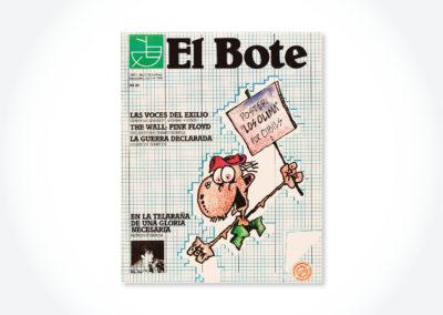 El Bote / Tapa periódico