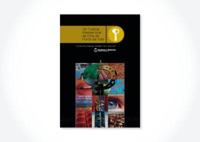 Festival de Cine PDE / Tapa catálogo
